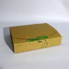 Коробка подарочная 195 х 130 х 50 мм, самосборная, 350 гр/м2