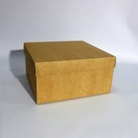 Коробка подарочная 280 х 280 х 150 мм, крышка+дно
