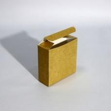Коробка подарочная 80 х 30 х 80 мм, самосборная