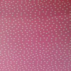Коробка подарочная 90 х 90 х 25 мм «Pink Hearts», крышка+дно