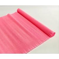 Креповая бумага (Италия), 2.5 м х 50 см, нежно-розовая