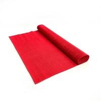Креповая бумага (Италия), 2.5 м х 50 см, красная
