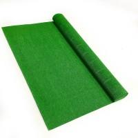 Креповая бумага (Италия), 2.5 м х 50 см, зеленая