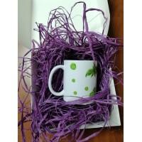 Рафия натуральная 50 г, фиолетовая