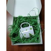 Рафия натуральная 50 г, зеленая