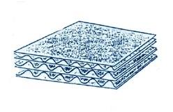Виды и типы упаковочного гофрокартона: семислойный гофрокартон