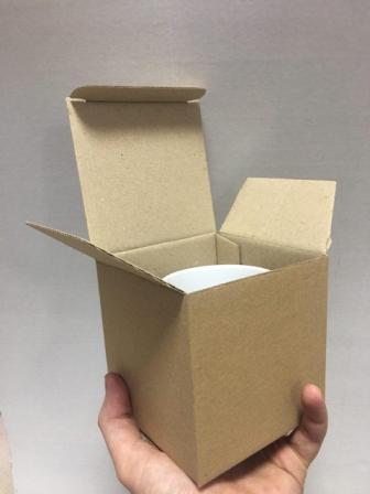 Самосборные картонные коробки сложной высечки