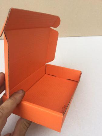 Самосборная коробка с ушками для смартфонов