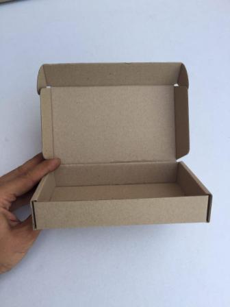 Самосборная коробка с ушками