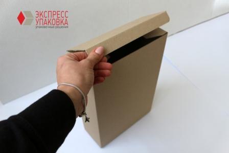 Самосборная коробка ласточкин хвост