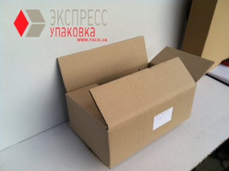 Транспортная коробка из трехслойного гофрокартона