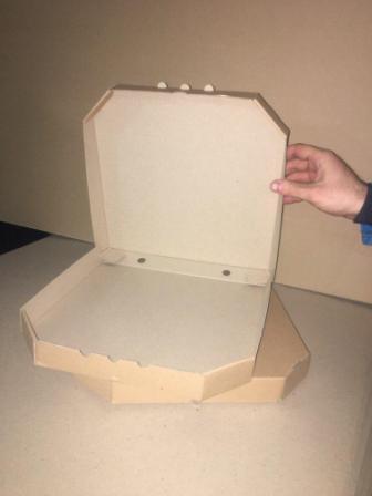 Коробка из микрогофрокартона для пиццы