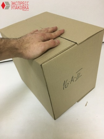 Четырехклапанная коробка для перевозки товаров и грузов