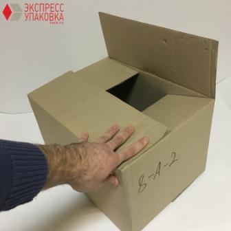 4-х клапанная коробка из гофрокартона
