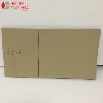 4-х клапанная коробка из гофрокартона в сложенном виде
