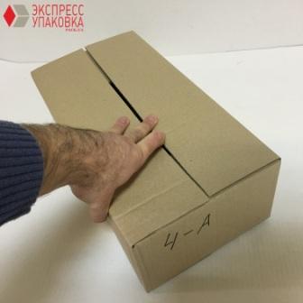 Четырехклапанная коробка большого размера