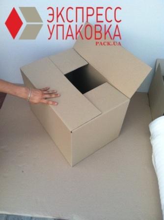 4-х клапанная коробка Новой почты для посылок