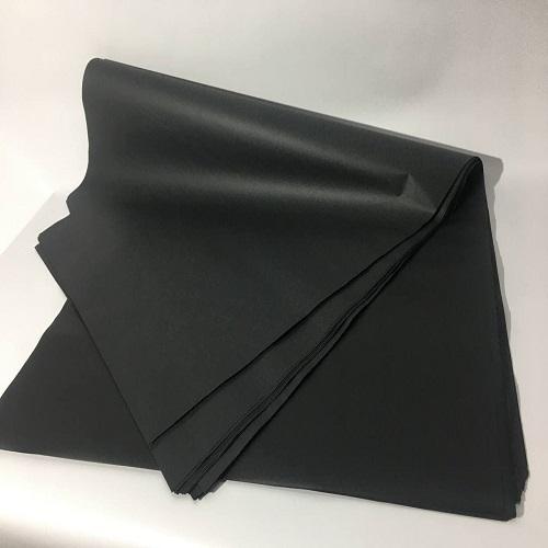 Товарная бумага черного цвета для оберточной упаковки
