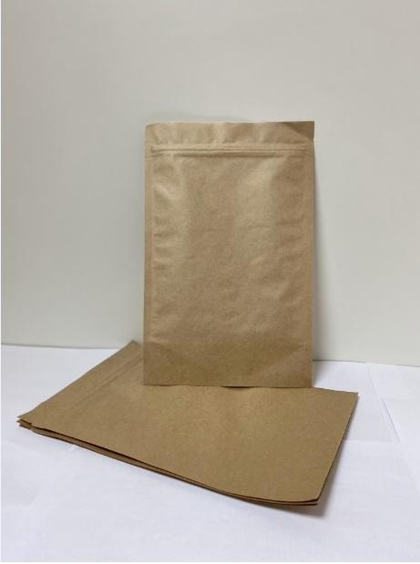 Пакет дой-пак из крафт-бумаги