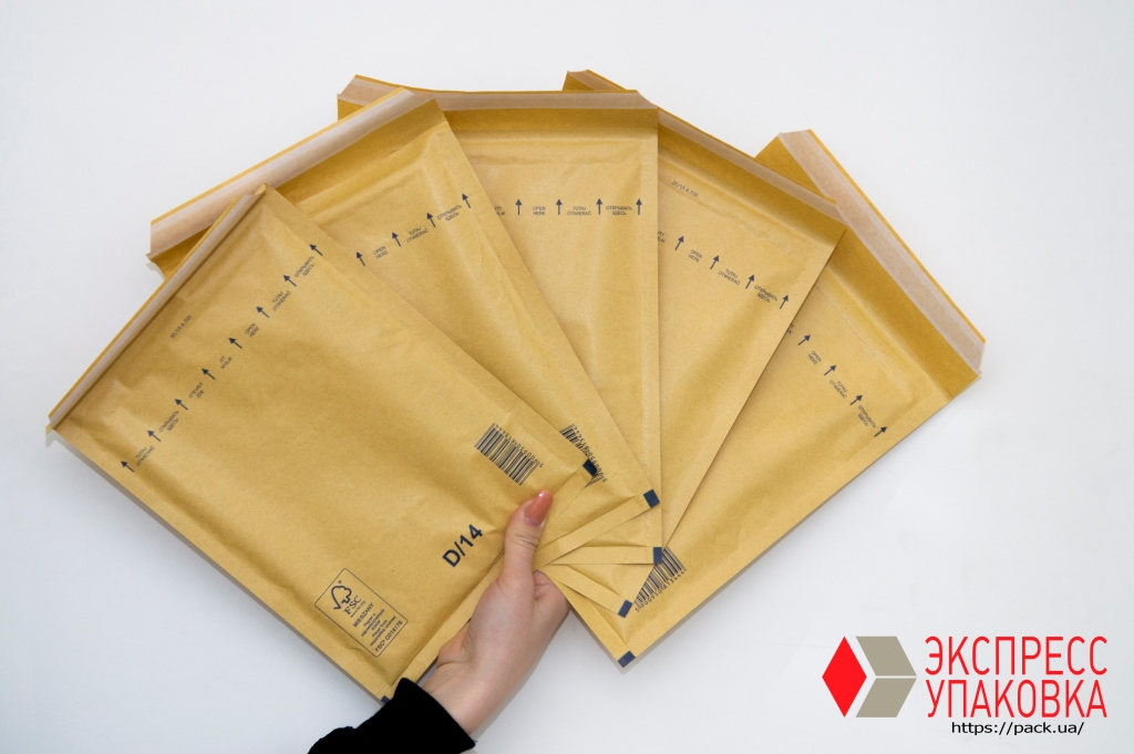 Бандерольные конверты для посылок и отправки заказных писем
