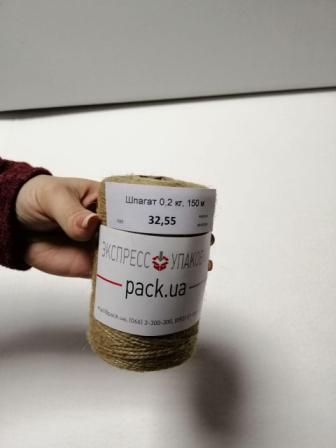Льняной шпагат для упаковки в бобинах небольшой намотки