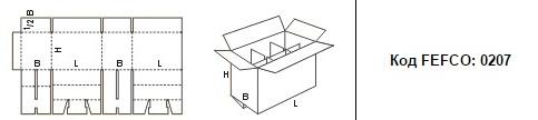 FEFCO 0207: Виды и типы картонных коробок