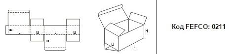 FEFCO 0211: Виды и типы картонных коробок