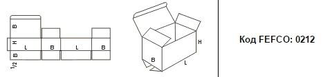 FEFCO 0212: Виды и типы картонных коробок