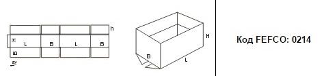 FEFCO 0214: Виды и типы картонных коробок