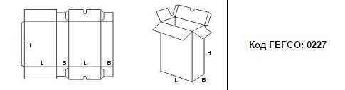 FEFCO 0227: Виды и типы картонных коробок