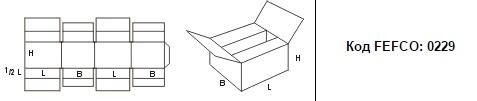 FEFCO 0229: Виды и типы картонных коробок
