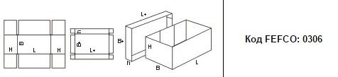 FEFCO 0306: Виды и типы картонных коробок