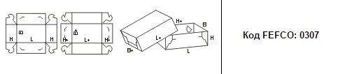 FEFCO 0307: Виды и типы картонных коробок