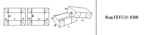 FEFCO 0308: Виды и типы картонных коробок