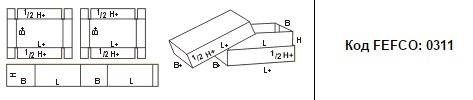 FEFCO 0311: Виды и типы картонных коробок