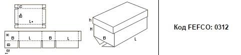 FEFCO 0312: Виды и типы картонных коробок