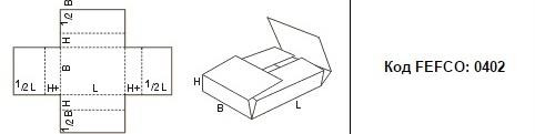 FEFCO 0402: Виды и типы картонных коробок