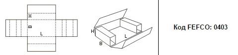 FEFCO 0403: Виды и типы картонных коробок