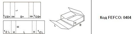 FEFCO 0404: Виды и типы картонных коробок