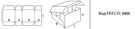 FEFCO 0406: Виды и типы картонных коробок