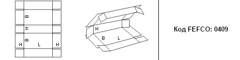 FEFCO 0409: Виды и типы картонных коробок