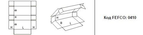 FEFCO 0410: Виды и типы картонных коробок