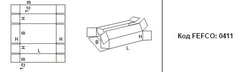 FEFCO 0411: Виды и типы картонных коробок