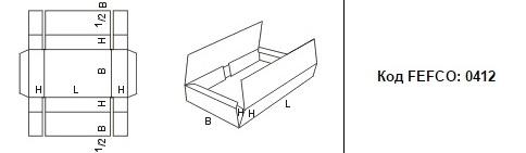 FEFCO 0412: Виды и типы картонных коробок