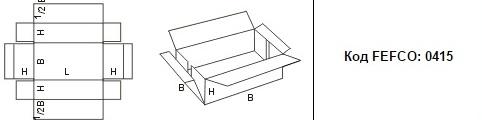 FEFCO 0415: Виды и типы картонных коробок