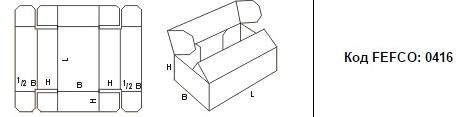 FEFCO 0416: Виды и типы картонных коробок