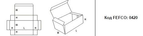 FEFCO 0420: Виды и типы картонных коробок