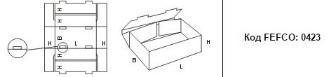FEFCO 0423: Виды и типы картонных коробок