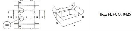 FEFCO 0425: Виды и типы картонных коробок
