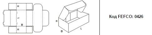 FEFCO 0426: Виды и типы картонных коробок